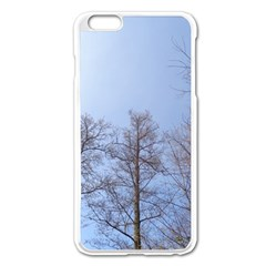 Large Trees In Sky Apple Iphone 6 Plus Enamel White Case