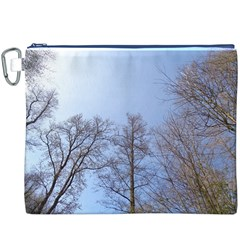 Large Trees In Sky Canvas Cosmetic Bag (xxxl)