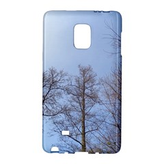Large Trees in Sky Samsung Galaxy Note Edge Hardshell Case