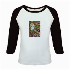 Inspirational Girl Kids Long Cap Sleeve T Shirt