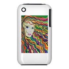 Inspirational Girl Apple Iphone 3g/3gs Hardshell Case (pc+silicone)