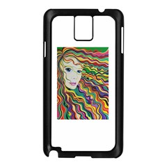 Inspirational Girl Samsung Galaxy Note 3 N9005 Case (Black)