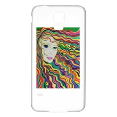Inspirational Girl Samsung Galaxy S5 Back Case (White)