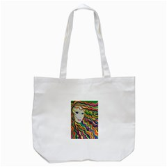 Inspirational Girl Tote Bag (White)
