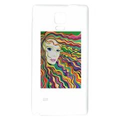 Inspirational Girl Samsung Note 4 Hardshell Back Case