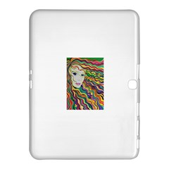 Inspirational Girl Samsung Galaxy Tab 4 (10.1 ) Hardshell Case