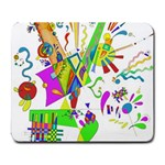 Splatter Life Large Mouse Pad (Rectangle) Front