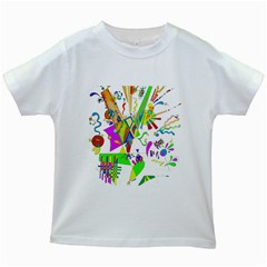 Splatter Life Kids T-shirt (White)