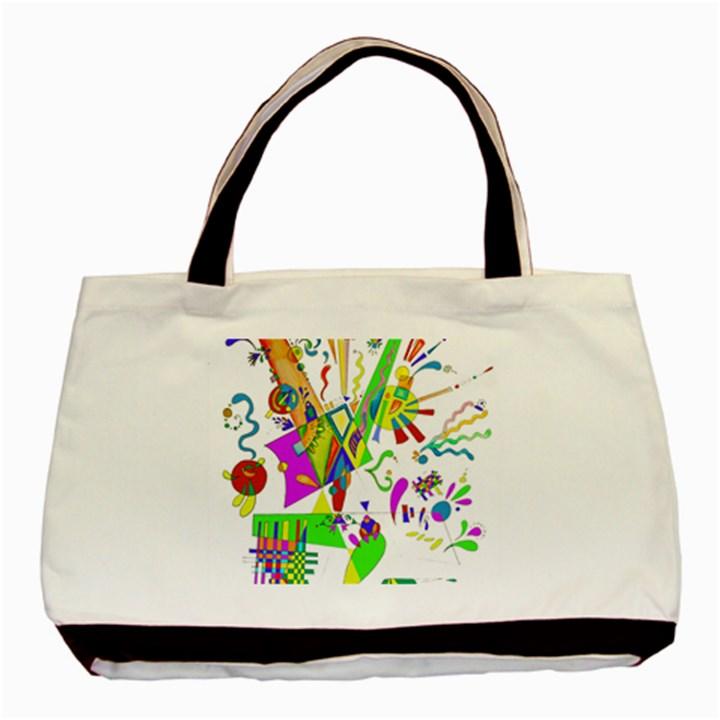 Splatter Life Classic Tote Bag