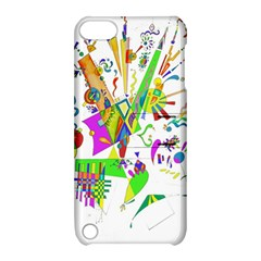 Splatter Life Apple Ipod Touch 5 Hardshell Case With Stand