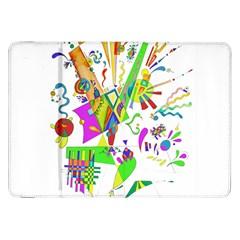 Splatter Life Samsung Galaxy Tab 8 9  P7300 Flip Case