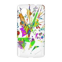 Splatter Life Google Nexus 5 Hardshell Case
