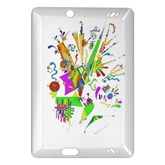 Splatter Life Kindle Fire Hd (2013) Hardshell Case