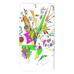 Splatter Life Samsung Note 4 Hardshell Back Case