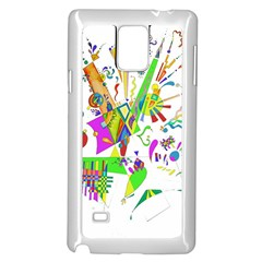 Splatter Life Samsung Galaxy Note 4 Case (White)