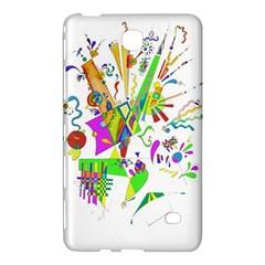 Splatter Life Samsung Galaxy Tab 4 (7 ) Hardshell Case