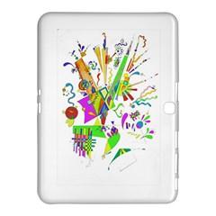 Splatter Life Samsung Galaxy Tab 4 (10.1 ) Hardshell Case