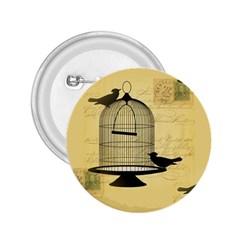 Victorian Birdcage 2 25  Button