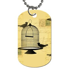 Victorian Birdcage Dog Tag (one Sided)