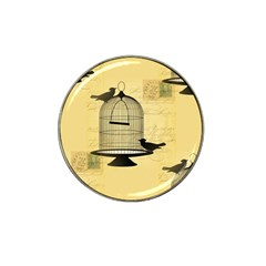 Victorian Birdcage Golf Ball Marker 4 Pack (for Hat Clip)