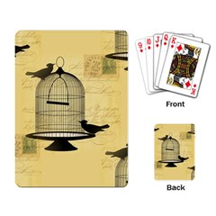 Victorian Birdcage Playing Cards Single Design