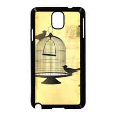 Victorian Birdcage Samsung Galaxy Note 3 Neo Hardshell Case (black)