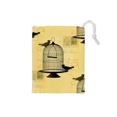 Victorian Birdcage Drawstring Pouch (Small)
