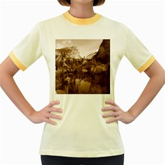 Native American Women s Ringer T-shirt (Colored)