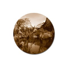 Native American Magnet 3  (round)