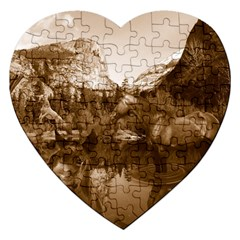 Native American Jigsaw Puzzle (heart)