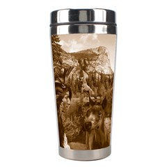 Native American Stainless Steel Travel Tumbler