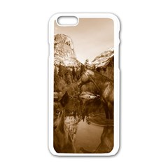 Native American Apple iPhone 6 White Enamel Case