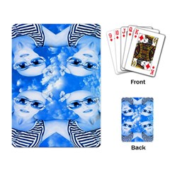 Skydivers Playing Cards Single Design