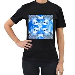 Skydivers Women s T Shirt (black)