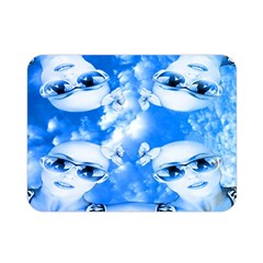Skydivers Double Sided Flano Blanket (mini)