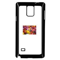 Flower Samsung Galaxy Note 4 Case (black)