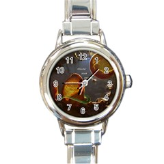 Follow Your Passion Round Italian Charm Watch