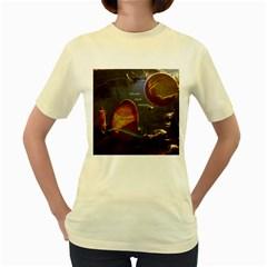 Follow Your Passion Women s T Shirt (yellow)