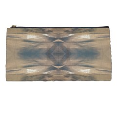 Wildlife Wild Animal Skin Art Brown Black Pencil Case