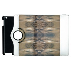 Wildlife Wild Animal Skin Art Brown Black Apple Ipad 2 Flip 360 Case