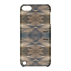 Wildlife Wild Animal Skin Art Brown Black Apple Ipod Touch 5 Hardshell Case With Stand