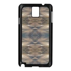 Wildlife Wild Animal Skin Art Brown Black Samsung Galaxy Note 3 N9005 Case (Black)