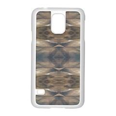 Wildlife Wild Animal Skin Art Brown Black Samsung Galaxy S5 Case (White)