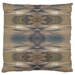 Wildlife Wild Animal Skin Art Brown Black Large Flano Cushion Case (two Sides)
