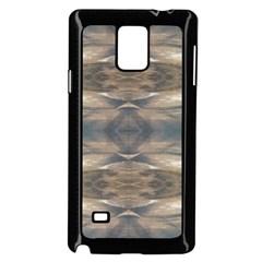 Wildlife Wild Animal Skin Art Brown Black Samsung Galaxy Note 4 Case (black)