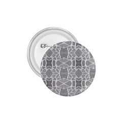 Grey White Tiles Geometry Stone Mosaic Pattern 1 75  Button