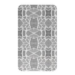 Grey White Tiles Geometry Stone Mosaic Pattern Memory Card Reader (rectangular)