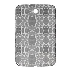 Grey White Tiles Geometry Stone Mosaic Pattern Samsung Galaxy Note 8 0 N5100 Hardshell Case