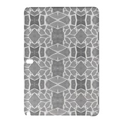 Grey White Tiles Geometry Stone Mosaic Pattern Samsung Galaxy Tab Pro 12.2 Hardshell Case