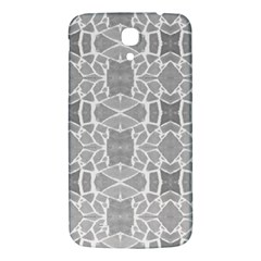 Grey White Tiles Geometry Stone Mosaic Pattern Samsung Galaxy Mega I9200 Hardshell Back Case